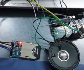 Arduino playing the melody with the Sd card