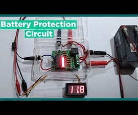 How to Make Battery Monitoring System With Over Discharge Protection & Battery Level Indicator