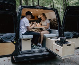 DIY Camper Van Conversion Build (Part 1)