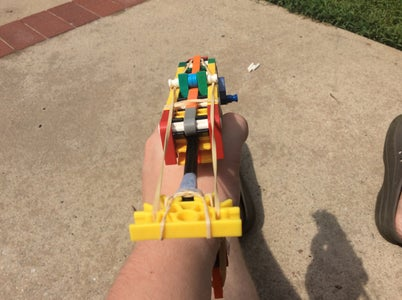 Very Basic Handle-Fed Pistol