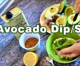 How to make Avocado Dip Spread Salsa