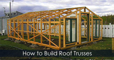 Picture of Step 5: How to Build Roof Trusses for a Greenhouse