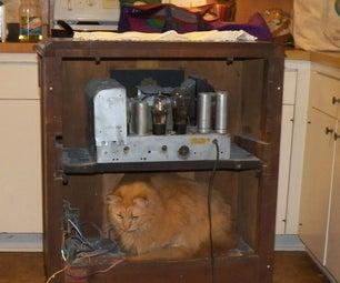 Antique Radio As Bluetooth Speaker