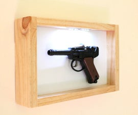 Display Frame With LED's