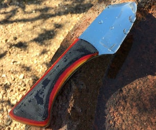 Make a Knife From High-carbon Steel