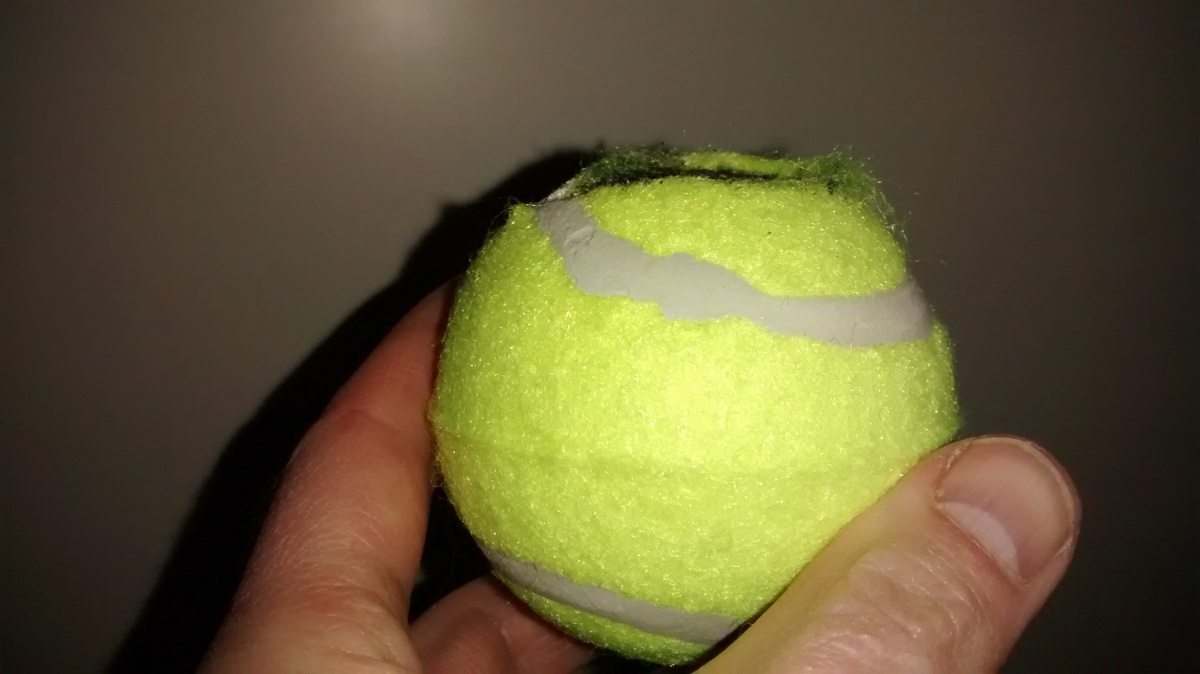 Picture of Prepare the Tennis Ball