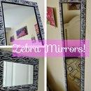 DIY Mirror Decor/ Revamp