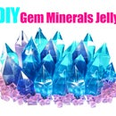 DIY Gem Minerals Jelly Gummy ! Jewelry Pudding Jelly