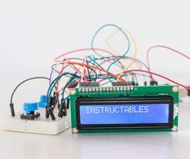 The Morse Translator With Arduino
