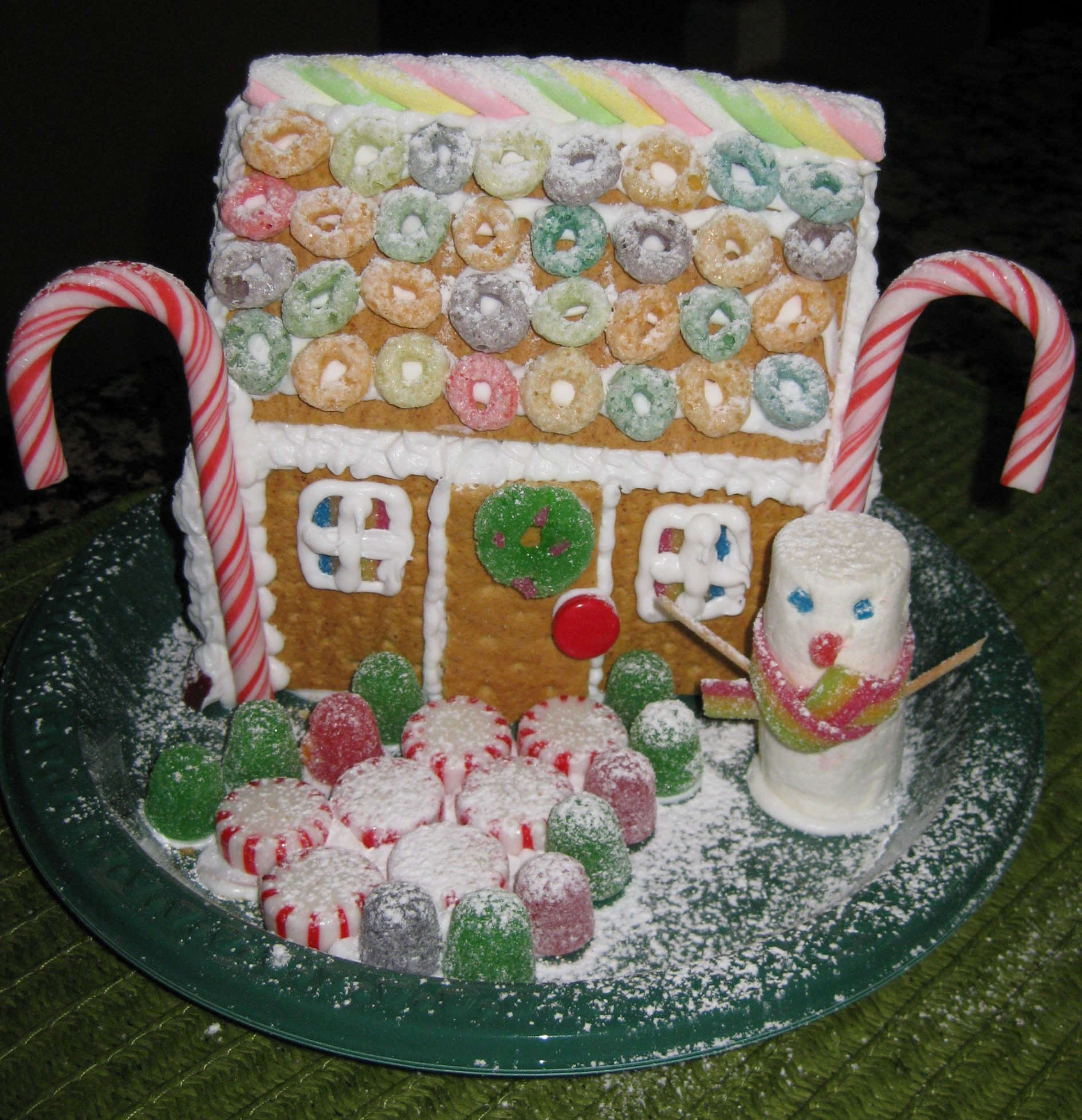 Easiest Mini Gingerbread House 7 Steps Instructables