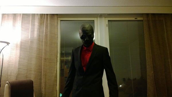 Black Mask's Mask for Halloween