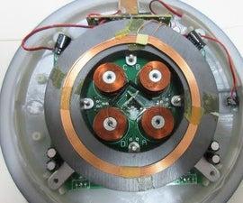 Magnetic Levitating Globe Tear-apart and Fix