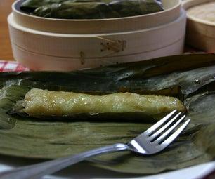 Suman Sa Lihiya - Filipino Steamed Sweet Sticky Rice Cakes