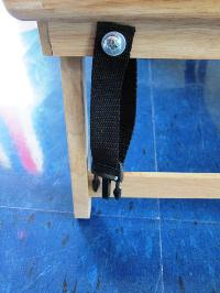 Picture of Attach Straps to Lap Table