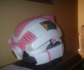 female transformers helmet