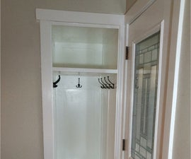 Redone Small  Entry Closet