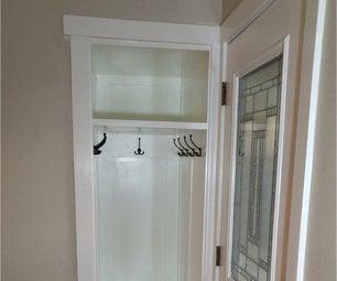 Redone Small  Entry Closet