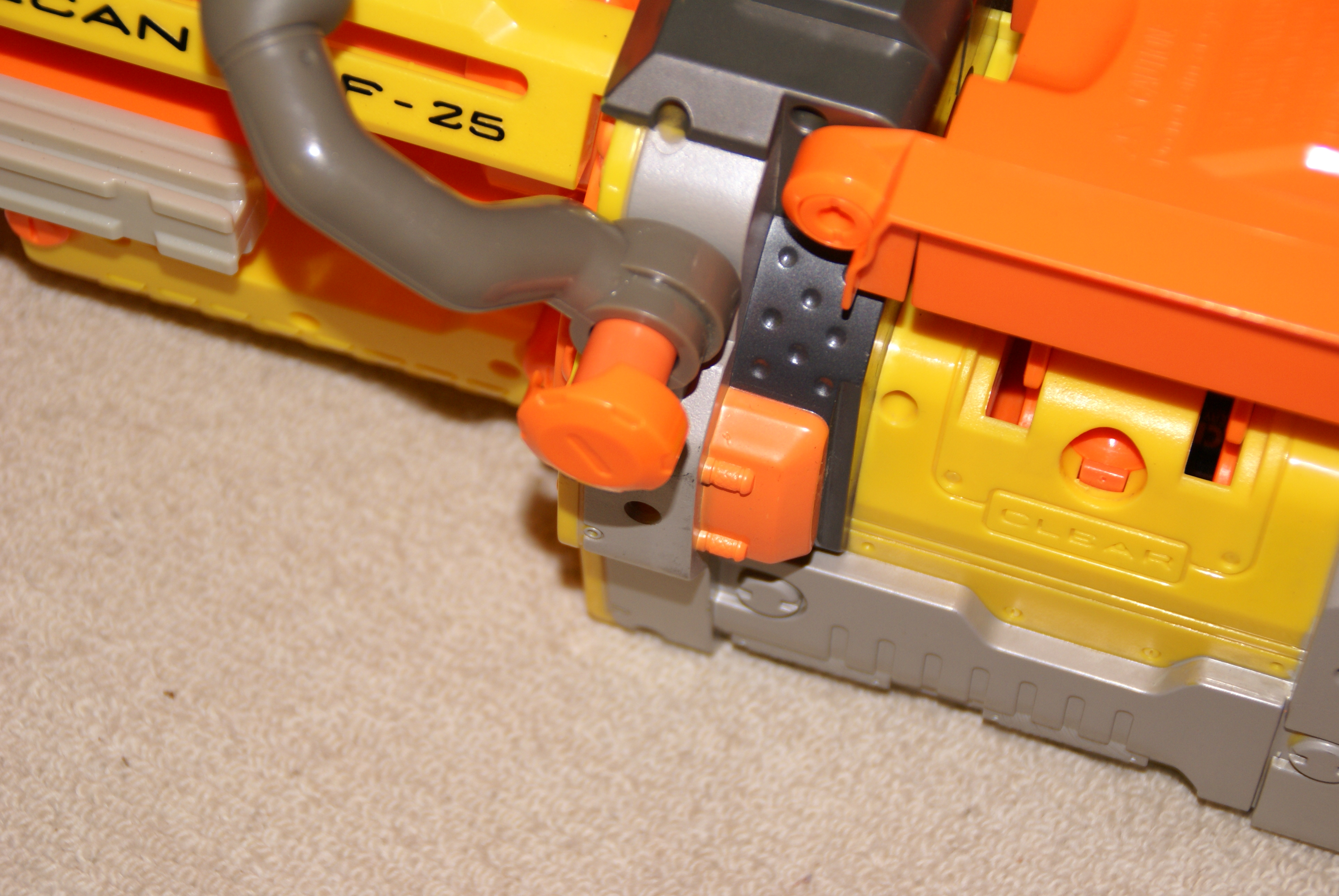 Picture of GUN DISASEMBLY Part One