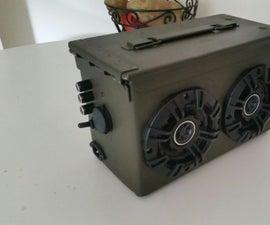 Ammo Can BlueTooth Boom Box