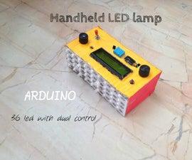 DIY handheld LED lamp