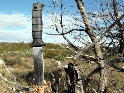 Yak-Proof Survival Knife
