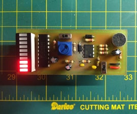 Mini Decibels - a simple volume meter with an electret mic & LM3916