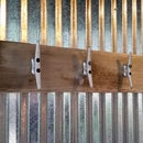 Reclaimed Driftwood Coat Hanger