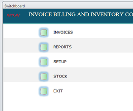 INVOICING BILLING AND INVENTORY CONTROL SYSTEM