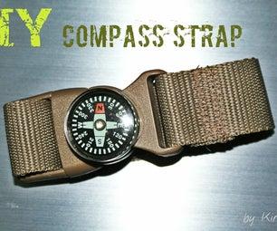 DIY Compass Strap