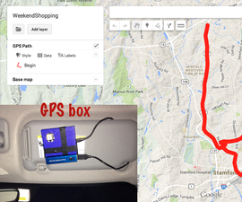 DIY GPS Data Logger for you next Drive/Hiking trail