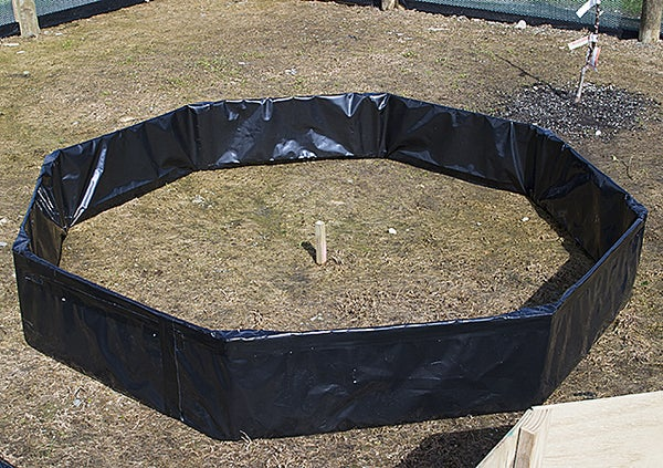 Octagonal Raised Garden Bed