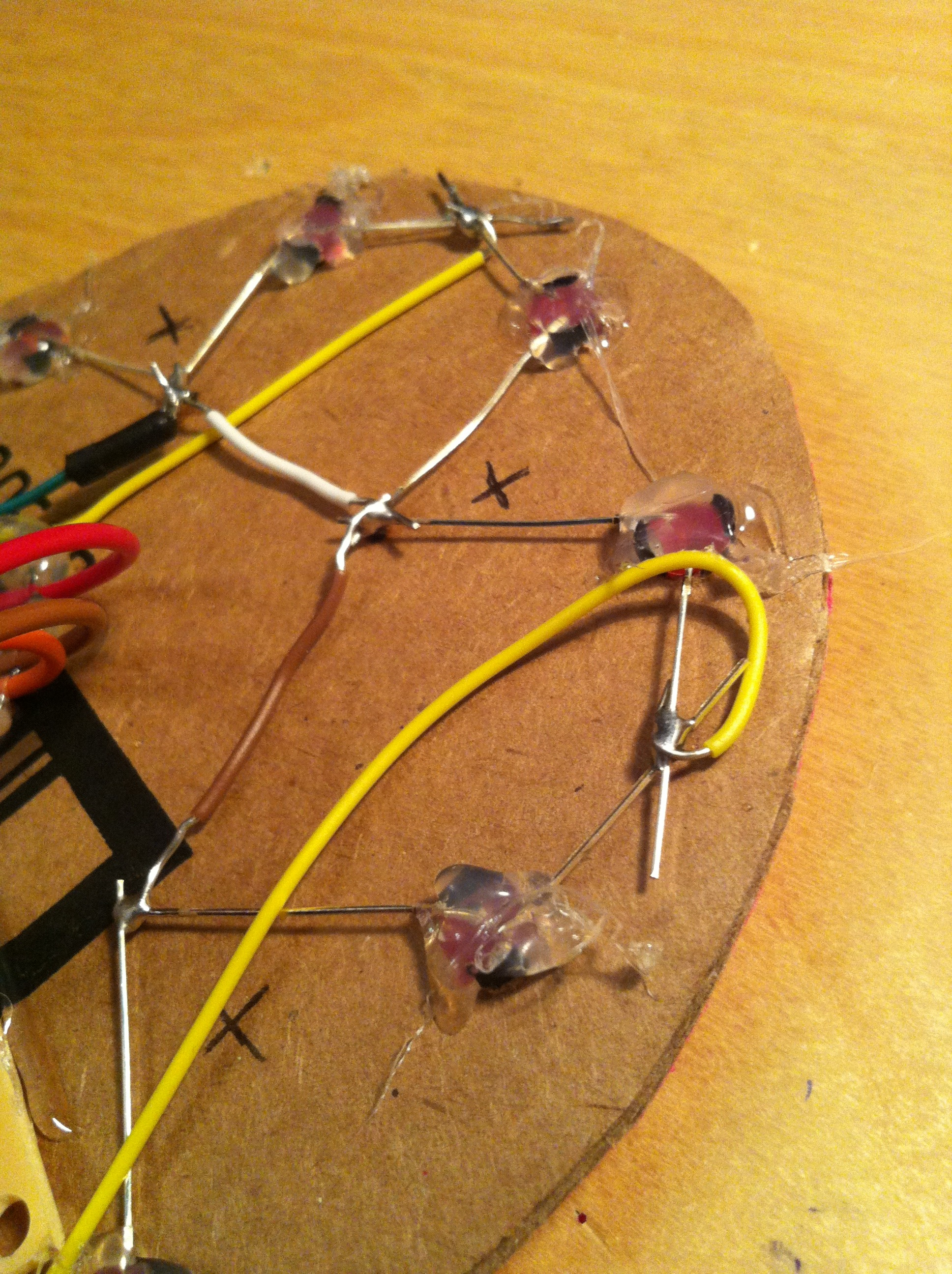 Picture of The Circuit for the LEDs