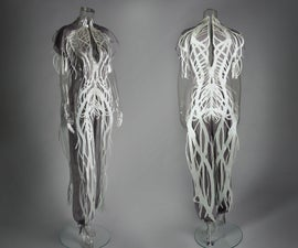 Turn Drawings Into Laser Cut Fabric for Custom Fit Garments and Fine Art