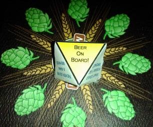 Magic 8 Beer 8 Sided Die