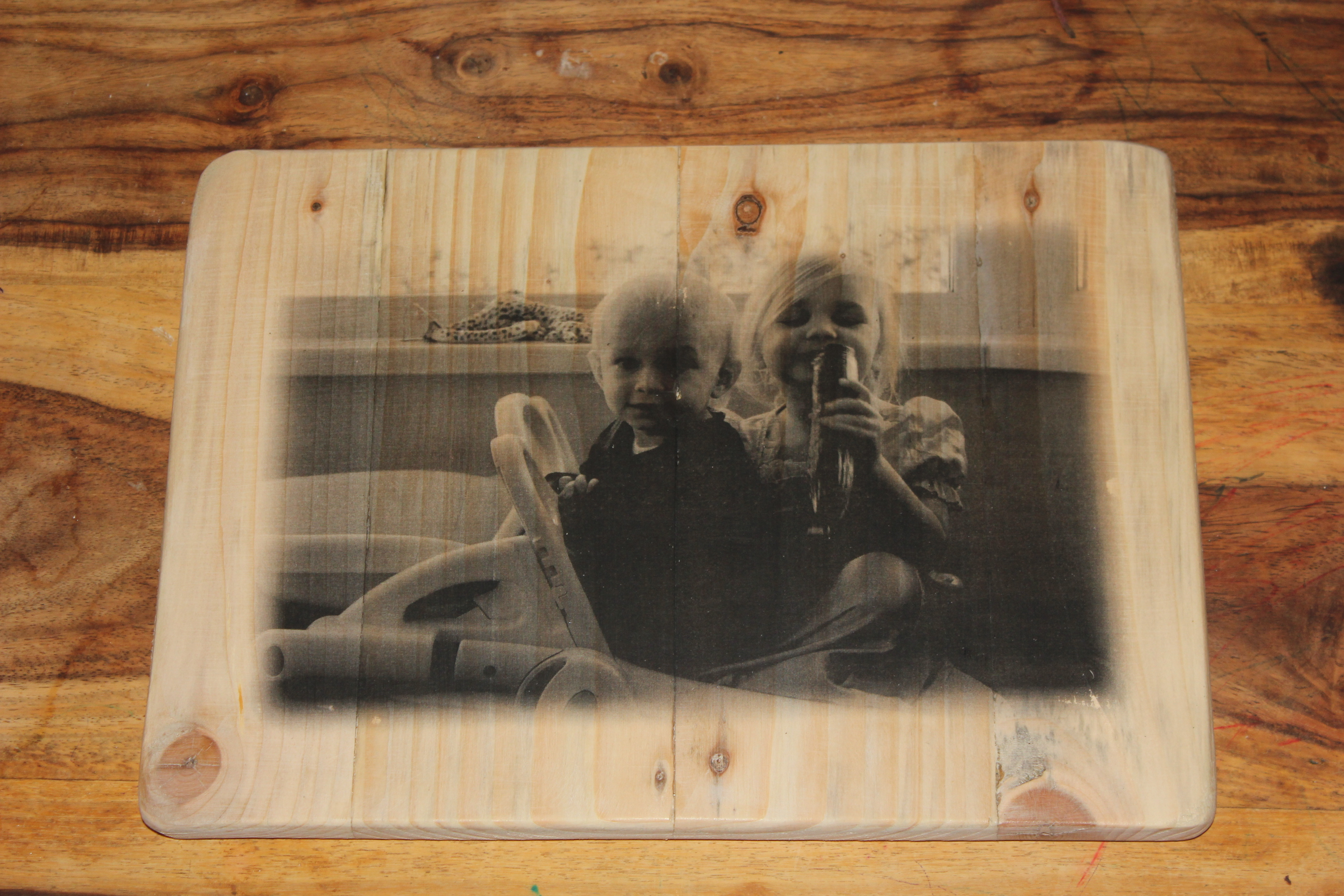 Picture of Transfer Photograph Onto Wood