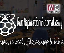 Start Applications automatically in Raspberry Pi