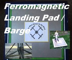 (Ferro) Magnetic Landing Platform / Barge for Quadcopters / Drones / Rockets