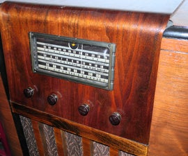 Restoration - New Life Out of a Busted 1930's Radio  Conversion
