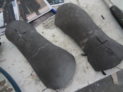 Gauntlets and Chest Pieces