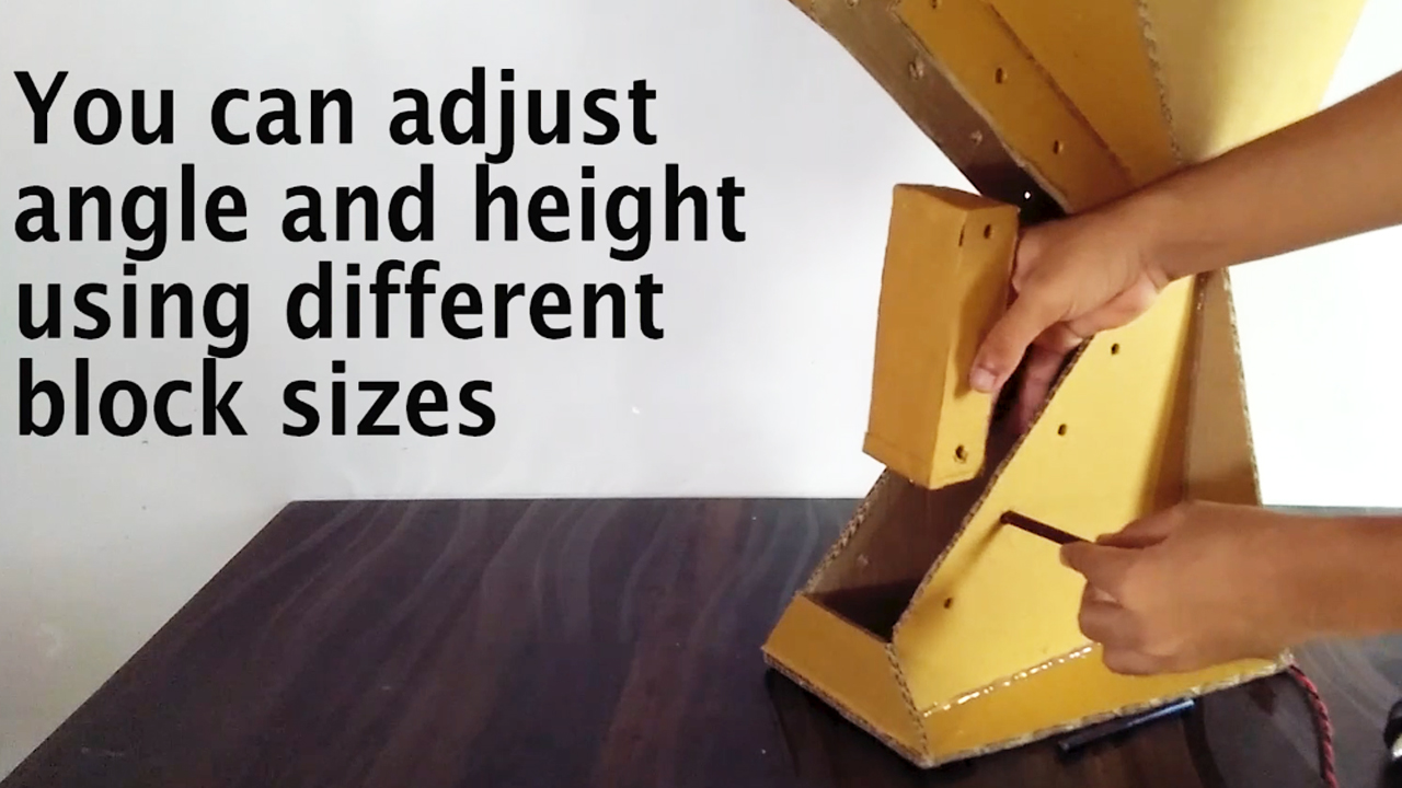 Picture of Align the Holes for Appropriate Arrangement As Per Your Requirement ( Refer Video )