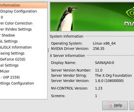 Installing an NVIDIA graphics driver on Ubuntu (9.04)