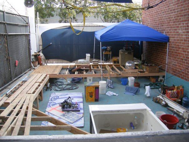 Picture of Build a Deck.. Add Plumbing
