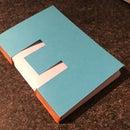 Button Hole Stitch Notebook.