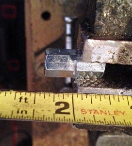 Cut the Coupling Nut Into Two Pieces