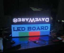 DaveWare Led Board