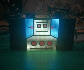 RGB LED Matrix With an ESP8266