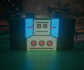 RGB LED Matrix With an ESP8266