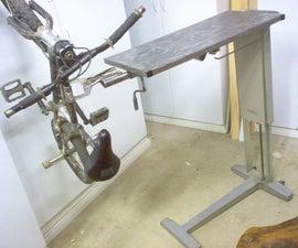 Adjustable Welding/Bike Worktable