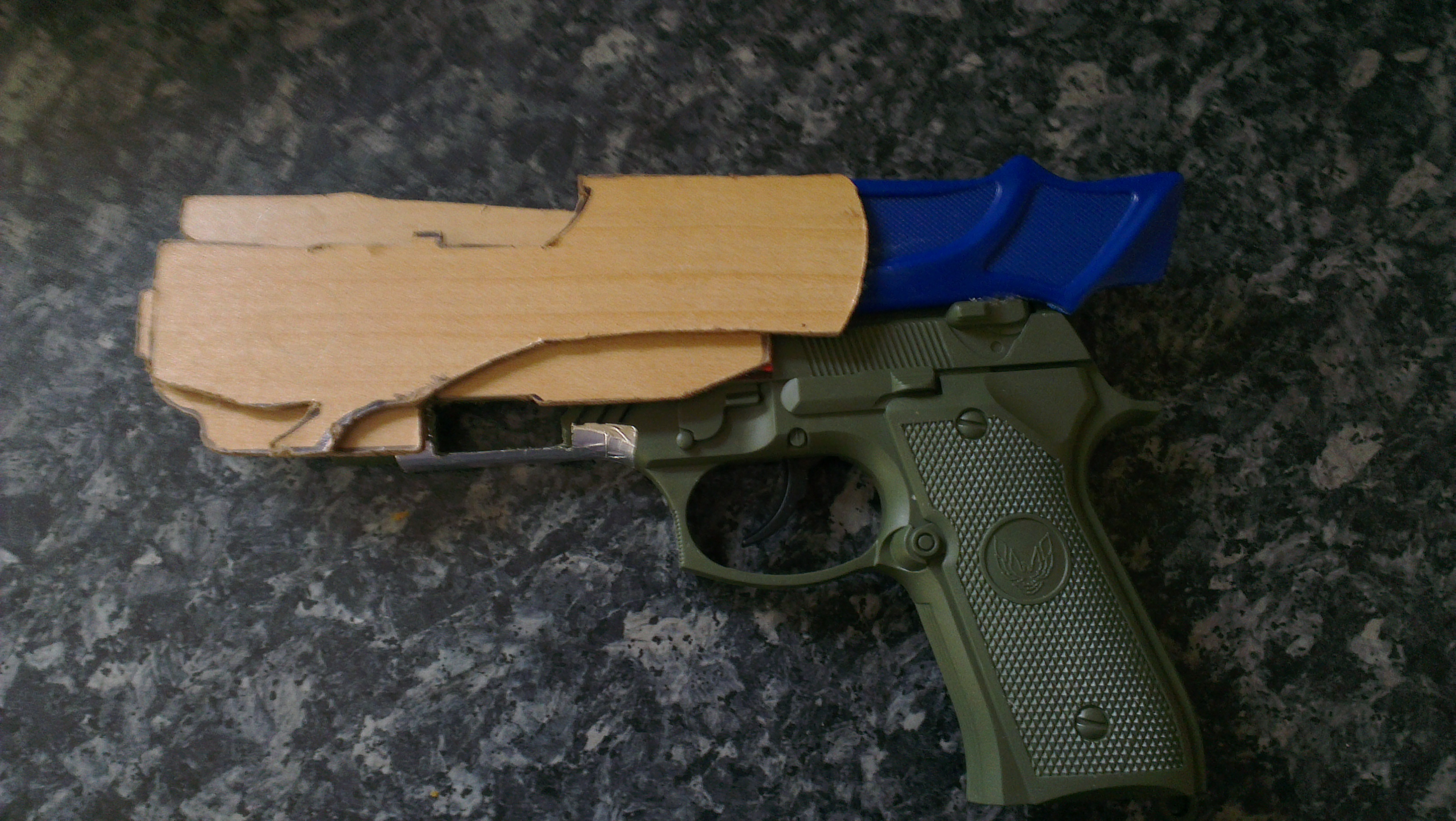 Picture of Creating the Gun Shape - Part 2