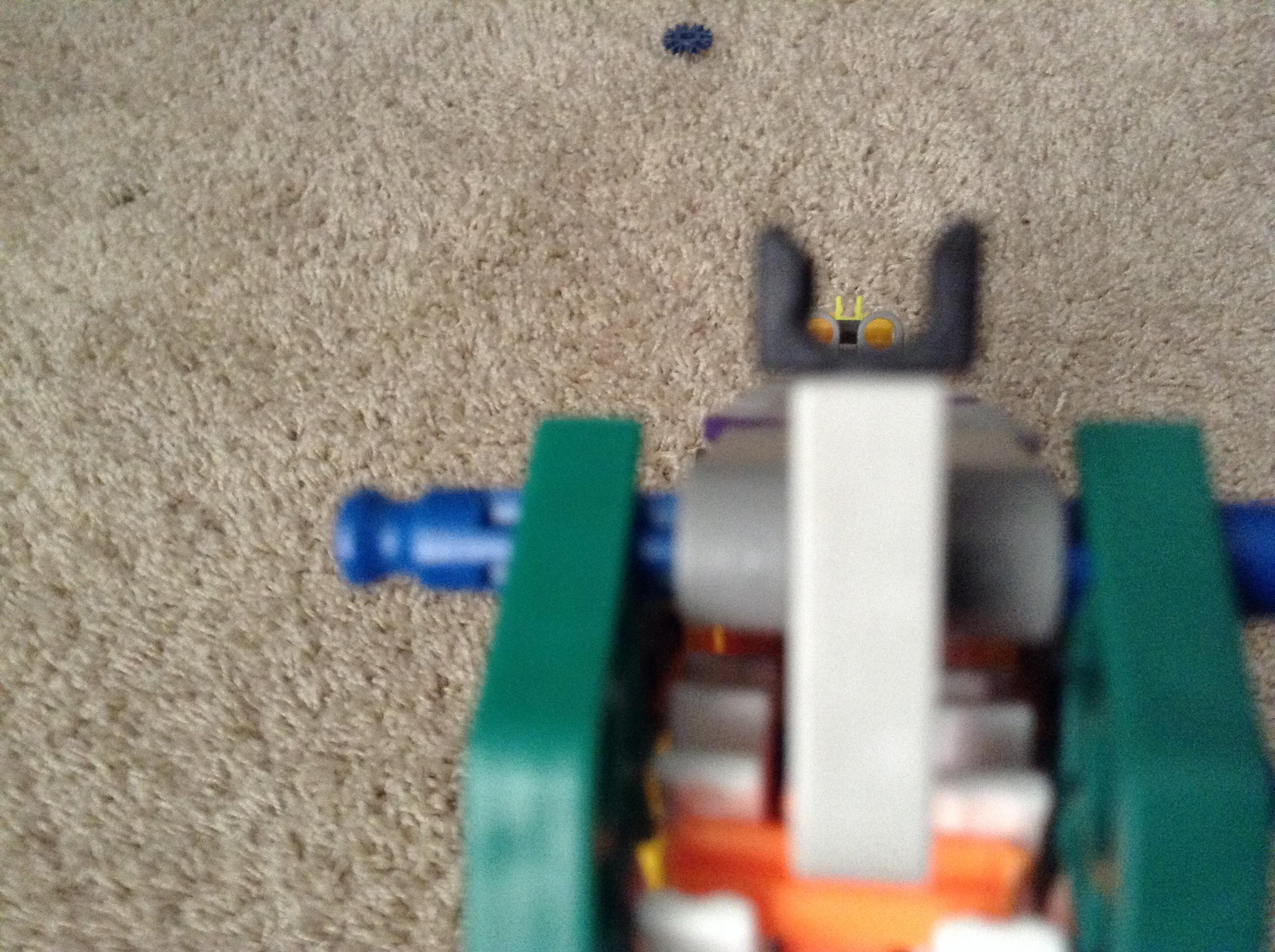 Picture of The Slugger a Knex Machine Pistol